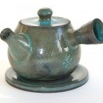Sarah Malone - thrown earthenware teapot