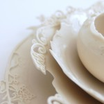close up - porcelain nestled set